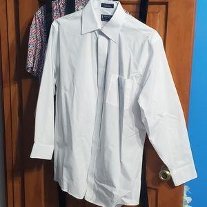 NWOT Stafford Dress Shirt Size Neck 16